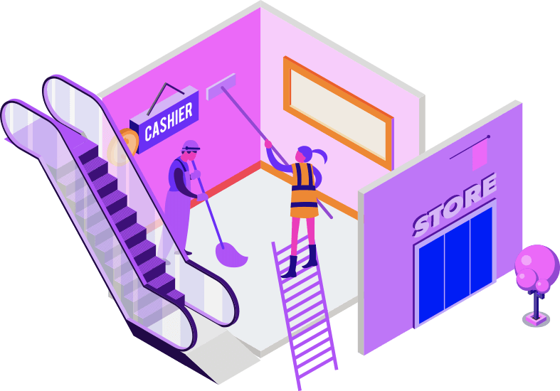 shopfitting diagram