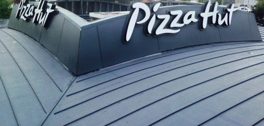 pizza hut roof